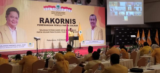 Riau Basis Partai Beringin, Ahmad Doli Harap Golkar Riau Bisa Sapu Bersih Kemenangan di Pilkada