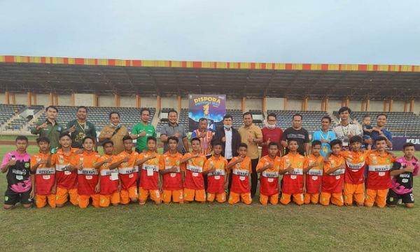 Gawang Inhil Bobol 6-0 Dibantai Tim U-14 Meranti