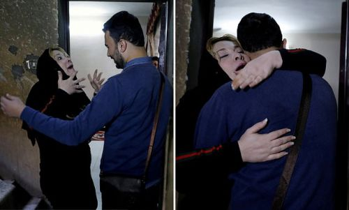 Mengharukan, Pemuda Palestina Akhirnya Bisa Memeluk Ibunya Setelah 20 Tahun Tak Bertemu