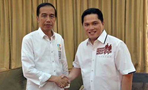 Jokowi Diisukan Ambil Untung dalam Skandal Jebolnya Jiwasraya Rp13,7 Triliun, Begini Penjelasan Erick Thohir