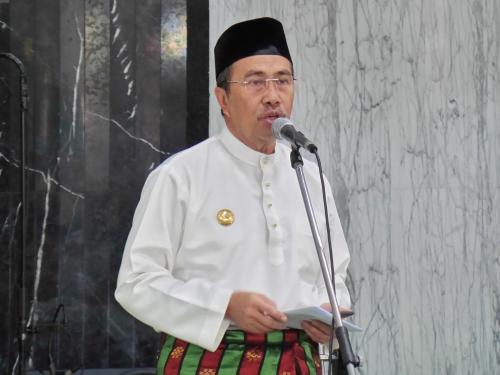 Gubernur Riau Syamsuar akan Terapkan Ekonomi Syariah di Bumi Lancang Kuning