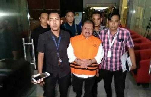 Hari Ini, KPK Jebloskan Bupati Bengkalis Amril Mukminin ke Rutan Kelas I Jakarta Timur