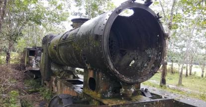 Lokomotif Kereta Api Bersejarah di Riau Banyak Jadi Barang Kiloan, Mardianto Manan: Saya Sedih, Bahkan Sempat Menangis