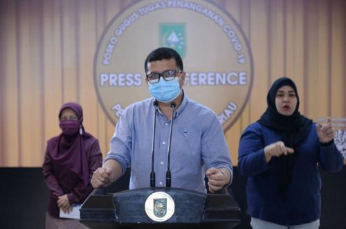 Pasien Positif Covid-19 ke-118 di Riau Ternyata Warga Kepri, Saat Ini Dirawat di RSUD Arifin Achmad