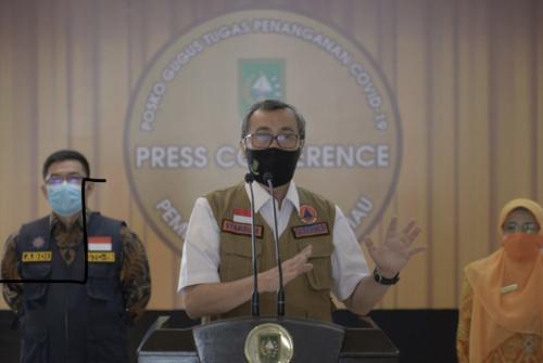 Wajib Bermasker, Pemprov Riau akan Buat Perda Sanksi Bagi Pelanggar Protokol Kesehatan