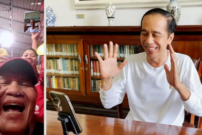 Presiden Jokowi Videocall dengan Leani Ratri Atlet Peraih Medali Emas pada Paralimpiade Tokyo 2020