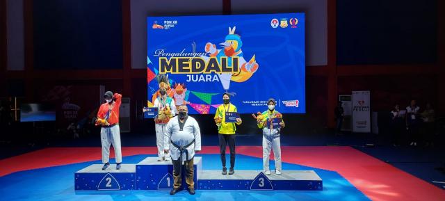 Taekwondo Riau Peroleh Total 1 Perak dan 2 Perunggu