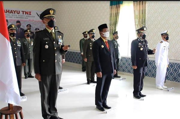 76 Tahun TNI, Dandim 0321 Rohil Ucapkan Terimakasih Kepada Seluruh Lapisan Masyarakat