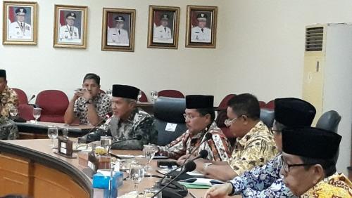 Usulkan Penundaan Jadi Tuan Rumah MTQ ke-39 Provinsi Riau 2020, Hasil Pertemuan Dilaporkan ke Gubri