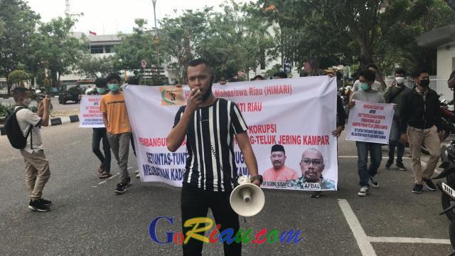 Himari Desak Kejati Tuntaskan Kasus Dugaan Korupsi Pembangunan Jalan di Kampar, Bupati Kampar Harus Dipanggil