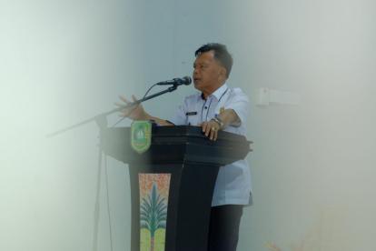 Diminta Tertib Lalin, Wabup Asmar Perintahkan ASN dan Honorer Wajib Pakai Helm