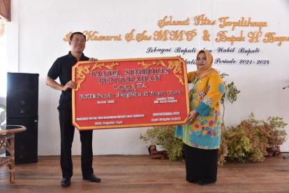 Demi Pembangunan RSUD Rupat, Tokoh Masyarakat Ini Rela Hibahkan Tanah 2 Hektare