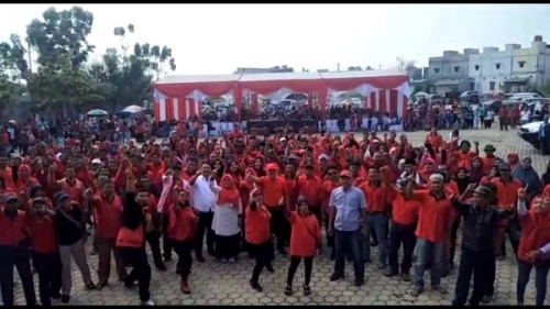 Ribuan Masyarakat Kuansing Hadiri Kampanye PDIP, Halim Kemukakan Alasan Memilih Jokowi - Amin