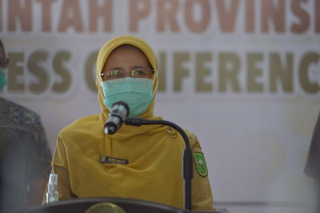 Positif Covid-19 Riau Tambah 222 Kasus Baru, 116 Sembuh, 4 Meninggal Dunia