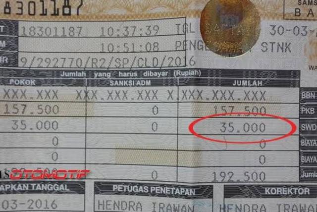 Pemprov Riau Raup Rp526 Miliar dari Bea Balik Kendaraan Bermotor