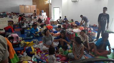 IKM Minta Bupati Jayawijaya Temui Pengungsi di Semua Posko di Wamena, Jangan Hanya di Kodim