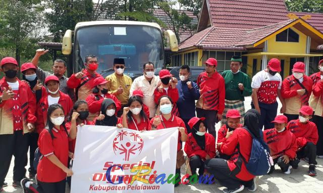 SOIna Pelalawan Berangkatkan 19 Atlet di Porda Riau