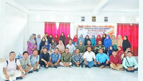 KPU Kepulauan Meranti Sosialisasikan Rumah Pintar Pemilu di Kampus STAI Nurul Hidayah