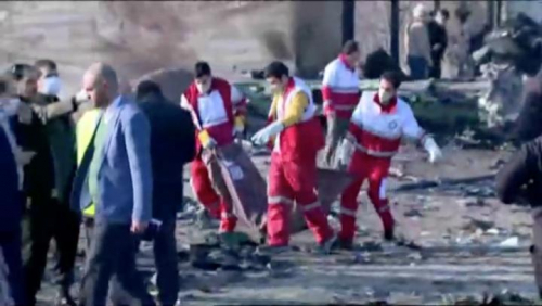 Pesawat Boeing 737 yang Jatuh di Iran Sudah Terbakar di Udara, Korban Berasal dari 7 Negara