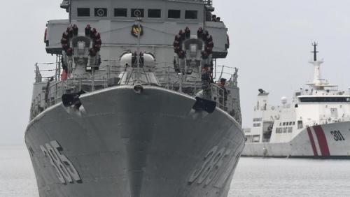 Dua Kapal Perang China Masih Berkeliaran dalam Wilayah Indonesia di Perairan Natuna