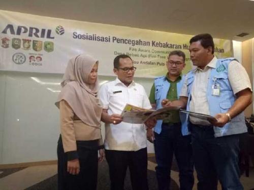 RAPP dan Disdik Riau Bersinergi Cegah Karhutla Sejak Dini
