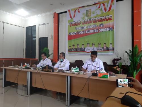 Bupati Kuansing Tegaskan Rusun Dipersiapkan untuk ODP, Bukan PDP Covid-19
