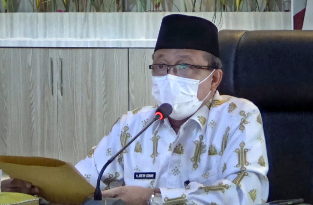 Sekda Siak Ikuti Rakor Supervisi Pencegahan Korupsi Sertifikasi Aset PSU Riau