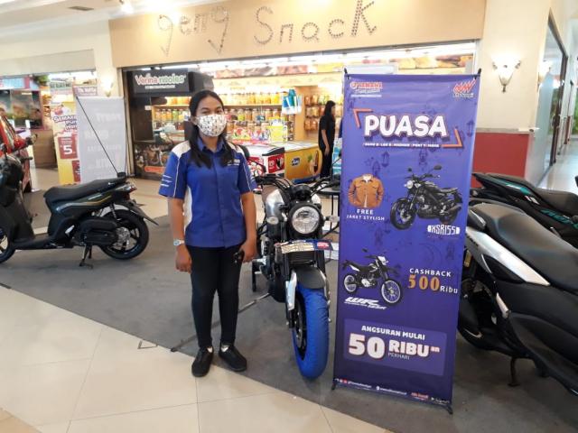 Buruan, Pameran Motor Yamaha di Mall Pekanbaru Hanya Sampai 11 April 2021
