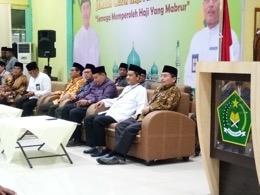 Wakili Bupati Inhil, Asisten II Setdakab Inhil Lepas JCH di Pekanbaru