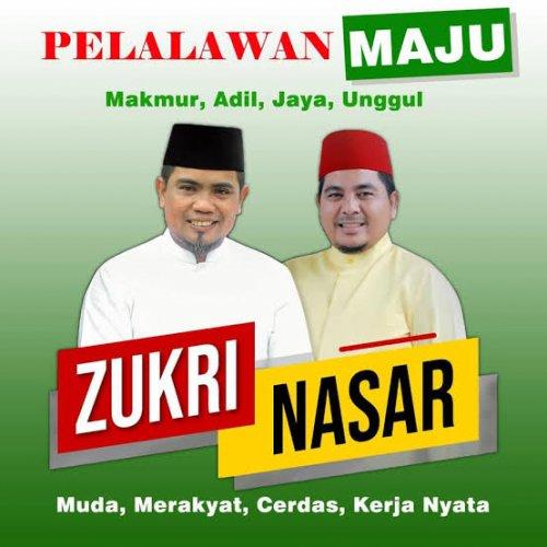 Diusung PDIP dan PPP, Zukri Gandeng Kader Golkar