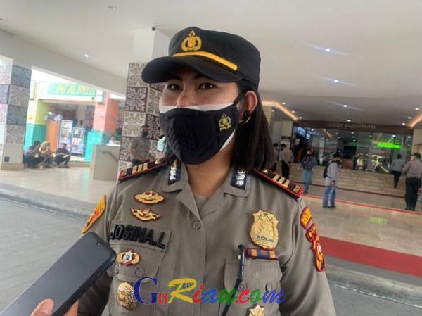 Redam Aksi Pedagang di STC Pekanbaru, Kapolsek: Selesaikan Baik-baik Jangan Sampai Ada Kerumunan