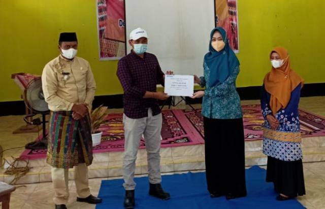 PT RAPP Salurkan Bantuan PMT untuk 1.916 Balita di Kuansing