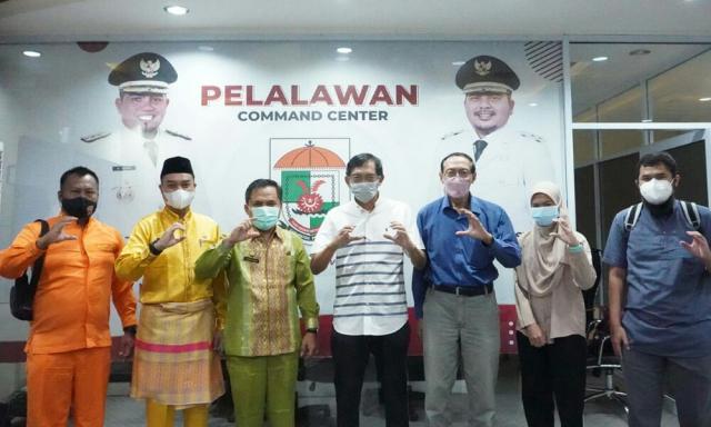 Wujudkan Transformasi Digital Indonesia, PIKKC ITB Kunjungi Pelalawan