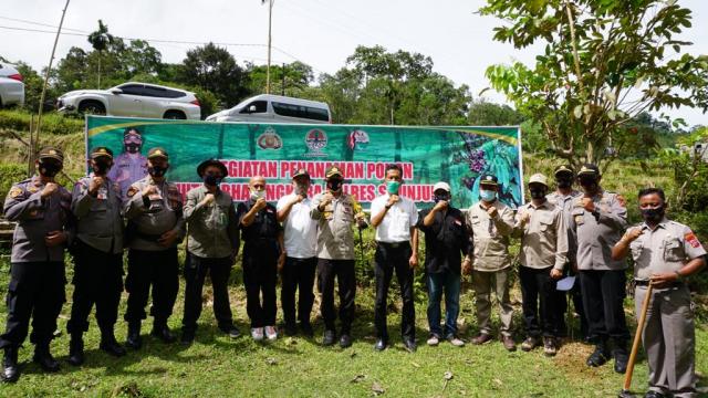 BPDASHL Indragiri Rokan KLHK Rangkul Komunitas Membangun Hutan