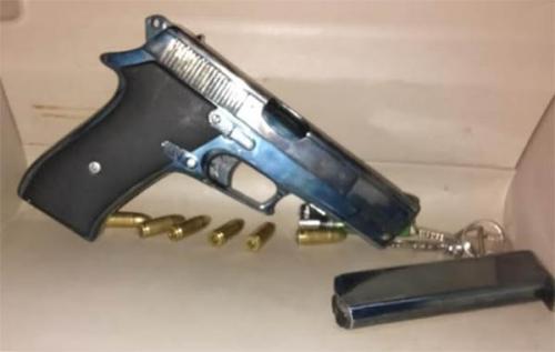 Simpan Pistol dan Peluru, Pria di Rohul Ditangkap Polisi