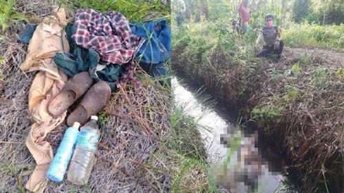 Dua Hari Setelah Tulis Surat Wasiat untuk Sang Isteri, Bapak di Bengkalis Riau Ditemukan Membusuk di Parit