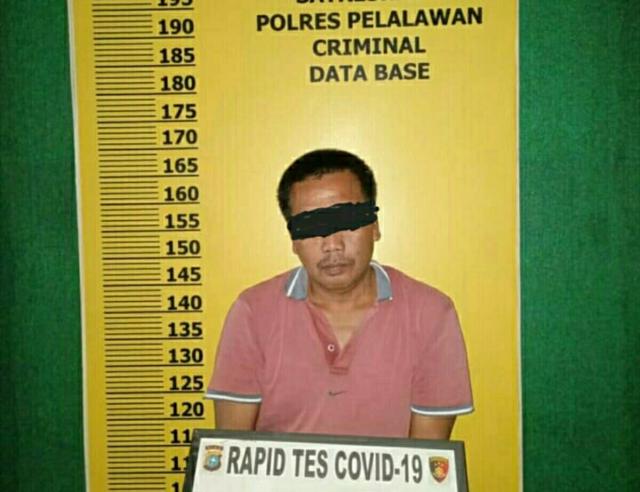 Polisi Tangkap Satu Pria Terkait Judi Togel Singapore di Pelalawan
