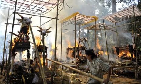 Jenazah Muslimah Dikremasi Secara Hindu di India, Ini Alasan Keluarganya