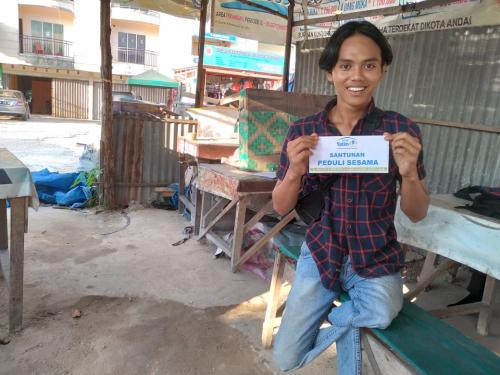 Kisah Perjuangan Riski Penyandang Disabilitas Tetap Semangat Jalani Hidup