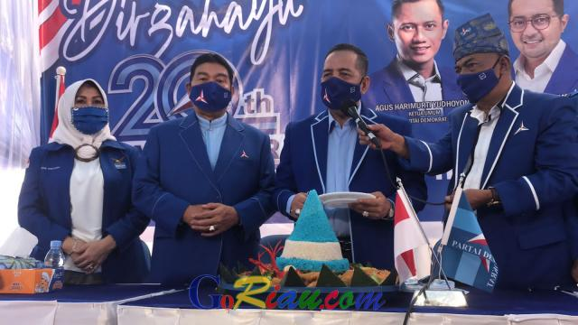 HUT Demokrat dan SBY, Asri Auzar Minta Kader Berdoa dan Ucapkan Terimakasih Atas Pengabdian di Bulan Bakti