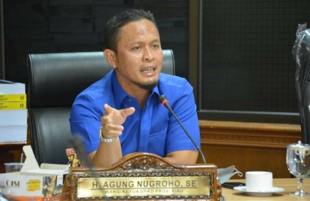 DPRD Riau Undang Dinas Kesehatan, Vaksinasi Baru 16,6 Persen, Agung Ajak Pemprov Riau Berkemah di Kemenkes