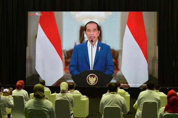 Presiden Jokowi Bilang Haornas ke-38 Diperingati dengan Catatan Prestasi Membanggakan