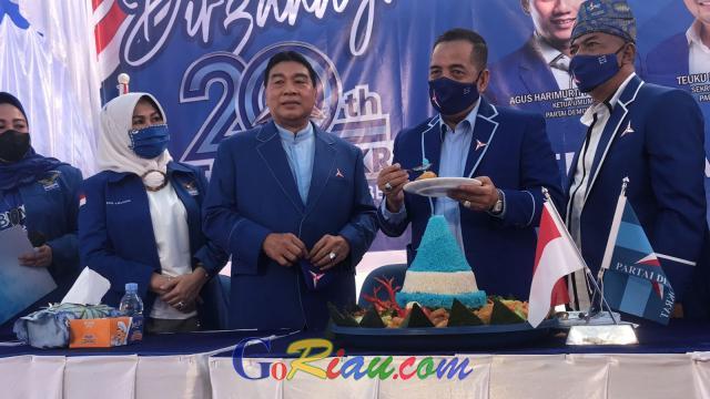 Perayaan Dua Dekade Demokrat, Achmad Sebut Partai Demokrat Unik dan Selalu Pro dengan Rakyat