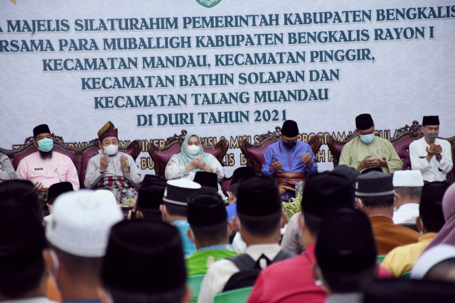 Sampaikan Visi dan Misi kepada Masyarakat, Bupati Bengkalis Gandeng Mubaligh, 1 Desa 1 Penyuluh Agama