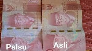 Waspada, Uang Palsu Beredar di Kota Pekanbaru, Polisi Sedang Lakukan Penyelidikan