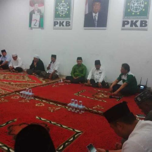 DPW PKB Riau Gelar Doa dan Tahlilan Atas Wafatnya KH. Aziz Mansyur