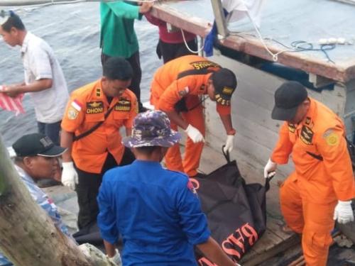 Warga Tanjung Balai Asahan yang Tenggelam di Perairan Rohil Riau Ditemukan Tak Bernyawa