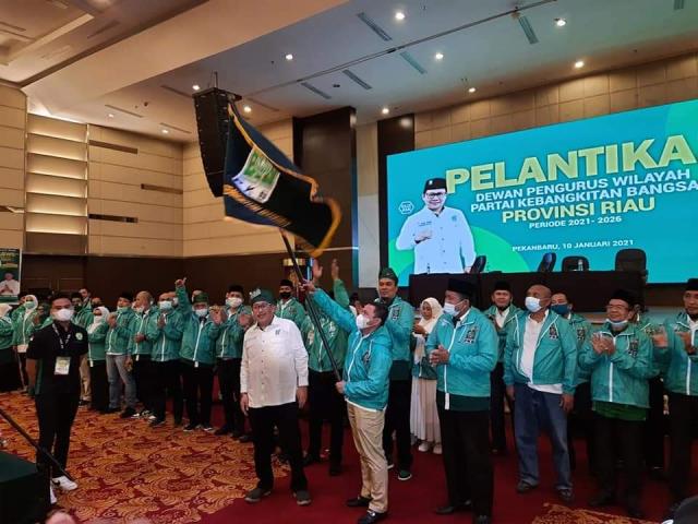 Abdul Wahid Kembali Pimpin PKB Riau, Berikut Struktur Kepengurusan DPW PKB Riau Periode 2021-2026