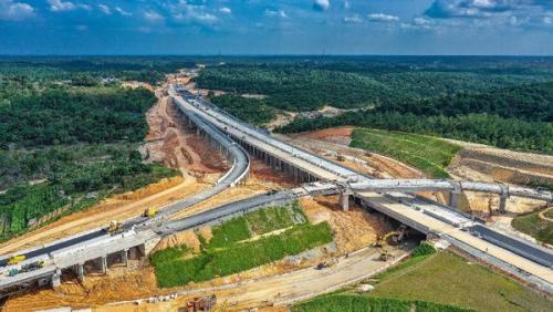 HK Optimis Pembangunan Konstruksi Tol Pekanbaru-Dumai Selesai pada April 2020, Asalkan...