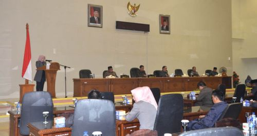 DPRD Inhil Sampaikan Aspirasi Masyarakat dalam Pokok-pokok Pikiran Dewan